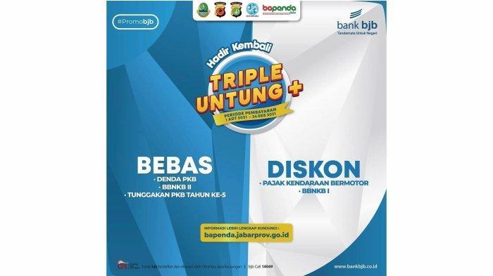 bank bjb mendukung program Triple Untung yang diselenggarakan Badan Pendapatan Daerah (Bapenda) Jawa Barat.