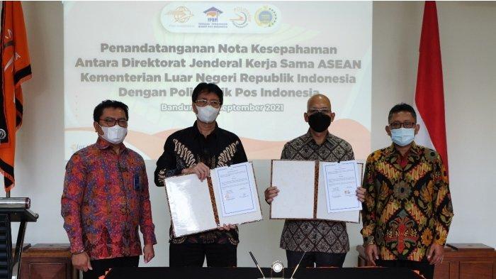 Buka Pusat Studi ASEAN, Politeknik Pos Indonesia dan Kemenlu RI Teken Nota Kesepahaman