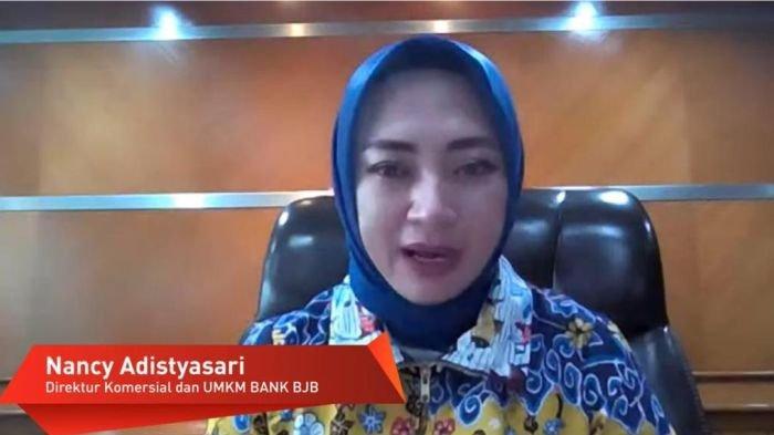 Direktur Komersial dan UMKM bank bjb Nancy Adistyasari