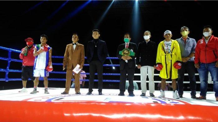 Langkah Tibo Monabesa Kian Dekat ke Juara Dunia Tinju