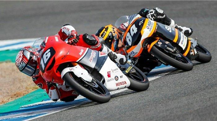 Mario Suryo Aji Raih Poin Penting di FIM CEV Jerez