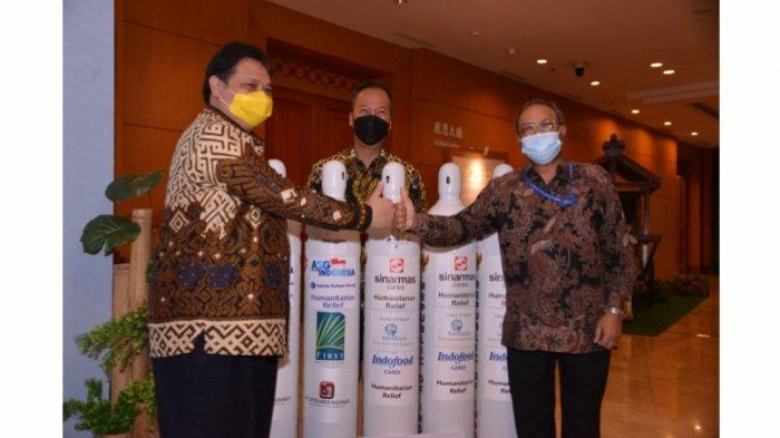 Menko Airlangga Lepas Bantuan Oksigen Tahap 2 Untuk India