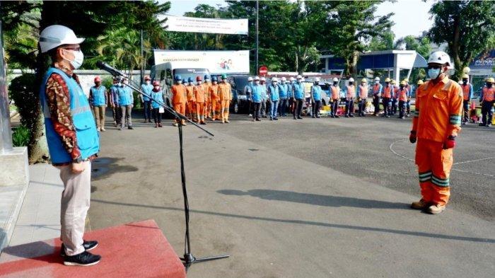 PLN UP3 Bandung Laksanakan Apel Siaga Pasokan Listrik Ramadhan dan Idul Fitri 1442 H.