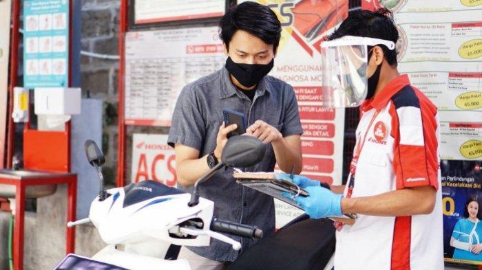 Servis Motor Honda di Bulan Ramadhan Langsung Dapat E-Voucher Servis.