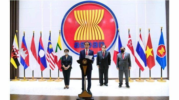 ASEAN Comprehensive Recovery Framework (ACRF) dalam rangka mewujudkan terintegrasinya ekonomi ASEAN. (Istimewa)