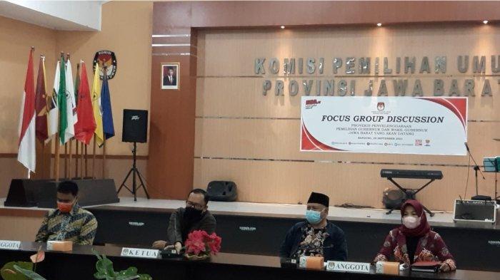 KPU Jabar Gelar FGD untuk Kesuksesan Pilgub Jabar
