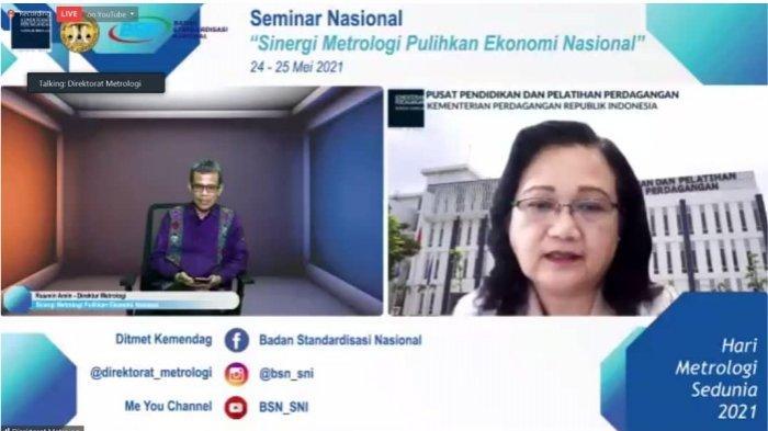 Ir. Chandrini Mestika Dewi, M.Si, Kepala Pusat Pendidikan dan Pelatihan Perdagangan.