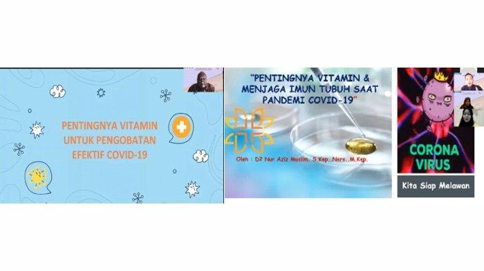 Pemaparan materi oleh Bapak Dede Nur Aziz Muslim, S.Kep.,Ners.,M.Kep dan Drs. Apt. Akhmad Priyadi, MM)