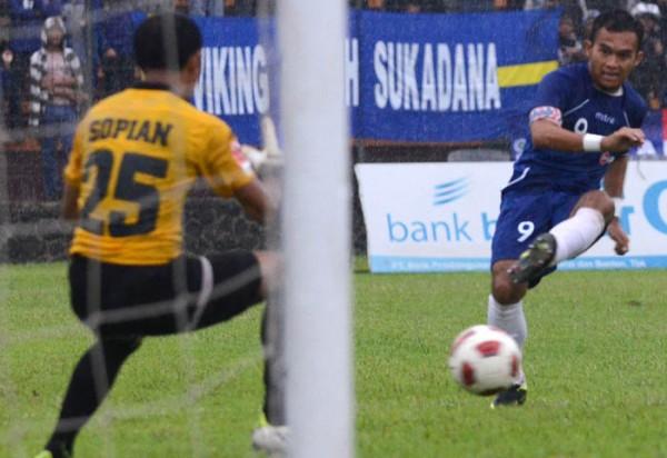 Lucky Player Persib Tahun 2008, Tiap Cetak Gol Maung Menang, Termasuk Lawan Persija di Kandangnya
