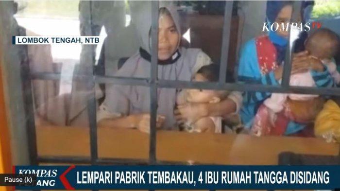 Sosok 4 Ibu Ditahan Berserta Anak Balitanya karena Ribut dengan Pabrik, Gubernur NTB Turun Tangan