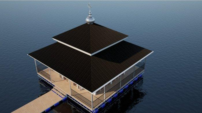 Masjid Nusantara akan Membangun Masjid Apung Pertama di Pangkep Sulsel.