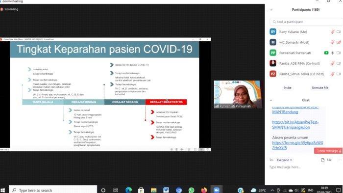 Webinar Peningkatan Kesehatan dengan Pemberian Suplemen pada Pasien COVID-19