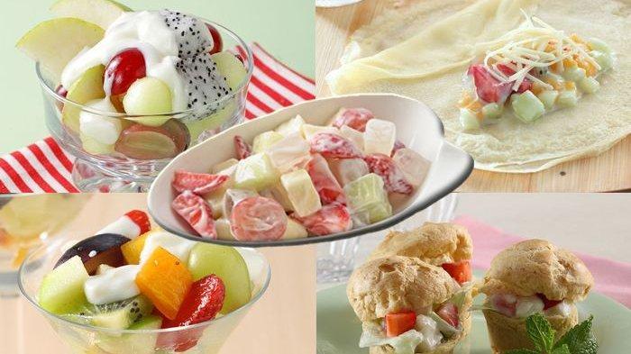 Menu Buka Puasa Segar dan Sehat, Resep Salad Buah 5 Varian, Versi Yoghurt hingga Topping Jeli
