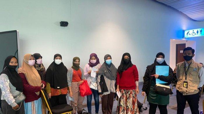 Tiba di Indonesia, TKW Asal Sumedang yang Nyaris Jadi Korban Trafficking Dikarantina di Wisma Atlet