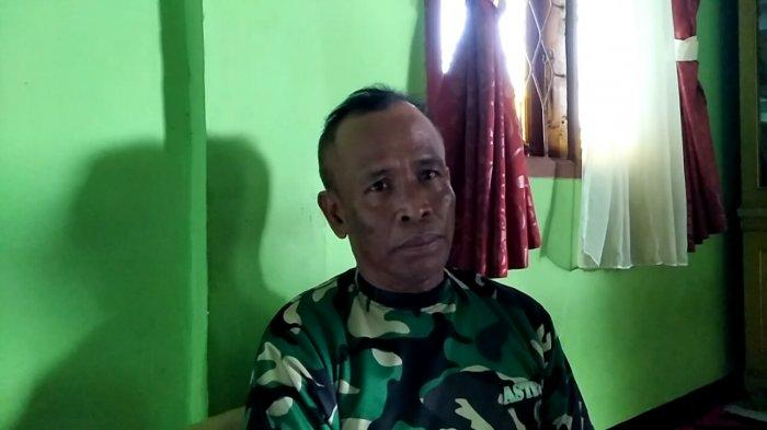 Abah Popon atau Ahmad Dimyati, guru ilmu kebal yang disebut-sebut oleh terduga teroris.