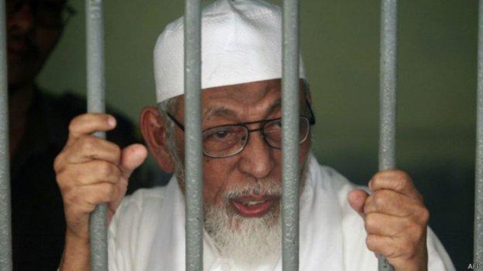 Abu Bakar Baasyir Bebas Murni pada 8 Januari 2021, Setelah Dipidana Selama 15 Tahun