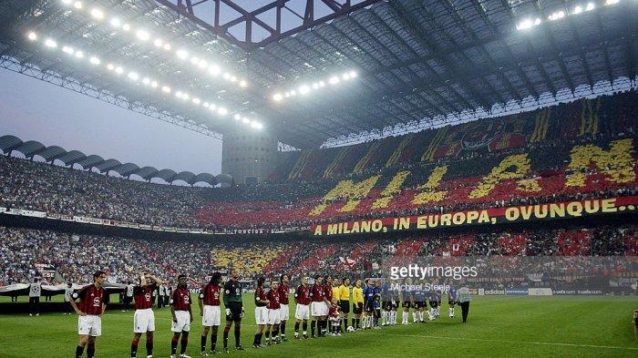 Jadwal Pertandingan AC Milan, LIVE STREAMING TV Bersama AC Milan vs Inter Milan Malam Ini