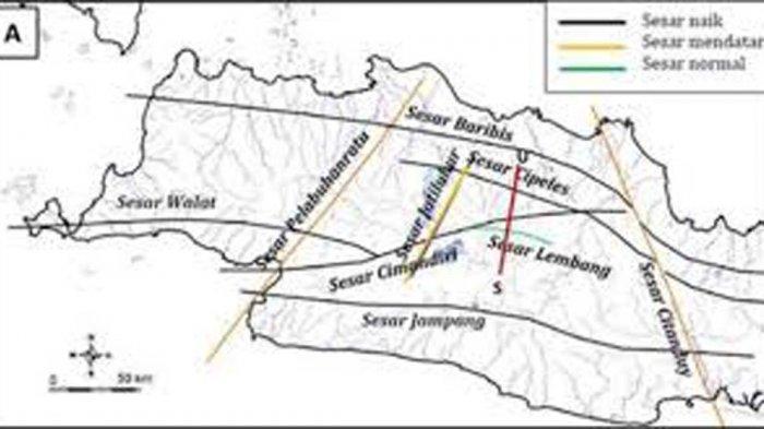 Sumedang Dilintasi Sesar Baribis BPBD Waspadai Ancaman Gempa di 4 Kecamatan Wilayah Timur,Mana Saja?