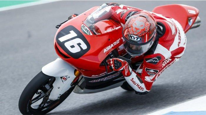Pebalap Astra Honda, Mario Aji Siap Debut Balapan di Grand Prix Moto3
