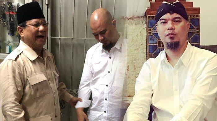 Pertemuan Ahmad Dhani dan Menhan Prabowo Curi Perhatian, Penampilan Suami Mulan Jameela Jadi Sorotan