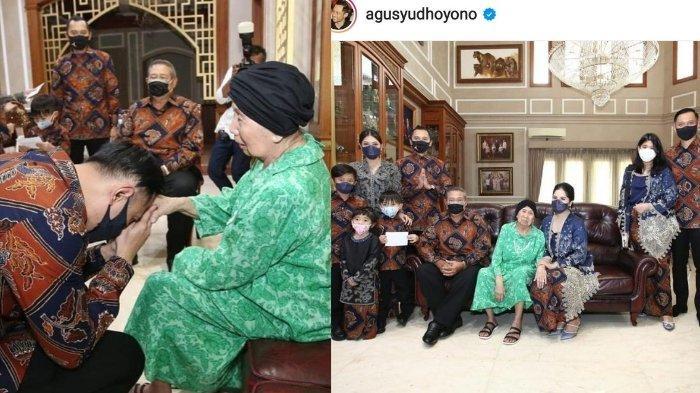 Foto-foto Kenangan Mertua SBY, Akrab dengan Cucu dan Cicit, AHY Cerita Bagaimana Sosok Eyangnya