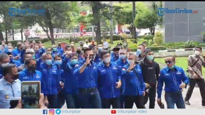 Demokrat Versi Moeldoko Ditolak Pemerintah, DPC Partai Demokrat Kota Sukabumi Gelar Syukuran