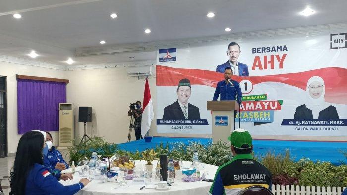 AHY: Partai Demokrat Targetkan 40-50 Persen Kemenangan di Pilkada Serentak 2020, Termasuk Indramayu