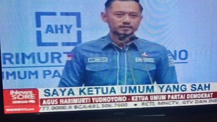 Terungkap Ada 34 Ketua DPC Hadiri KLB Partai Demokrat di Medan, AHY Sebut Mereka Sudah Di-Plt kan