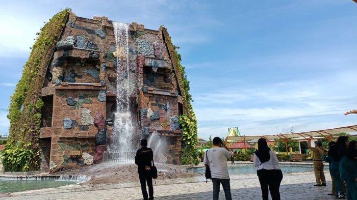 Air Terjun Buatan Bojongsari, Objek Wisata Baru di Indramayu, Begini Penampakannya