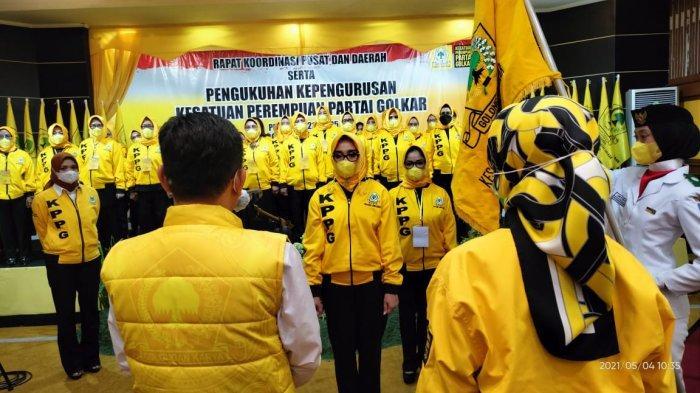 Airin Rachmi Kukuhkan Kesatuan Perempuan Partai Golkar, Bisa Berperan Sentral di Panggung Politik