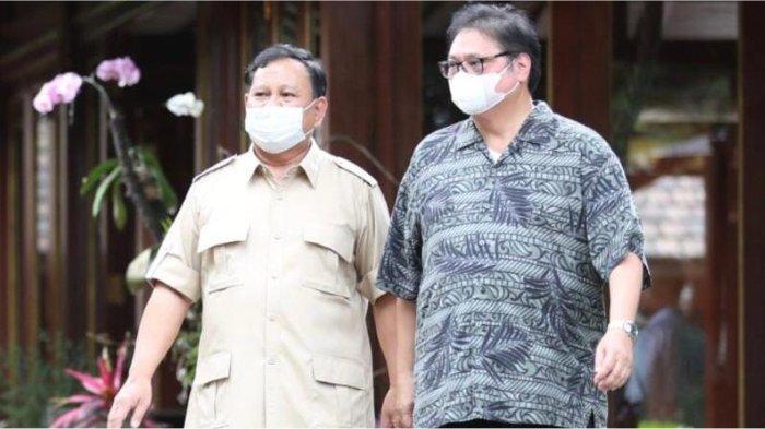 Airlangga Hartarto & Prabowo Subianto