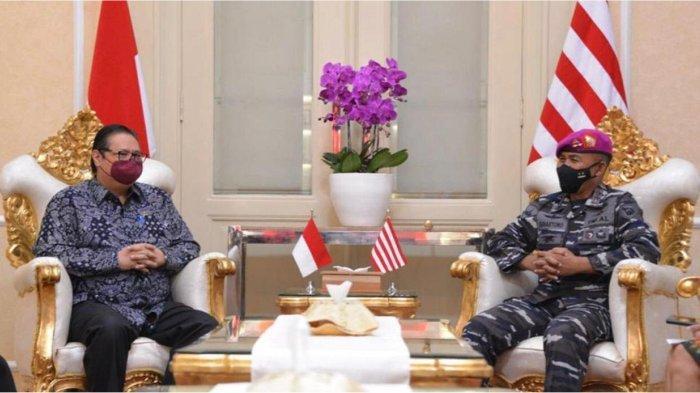Menko Airlangga Apresiasi Dedikasi TNI dalam Penanganan COVID-19