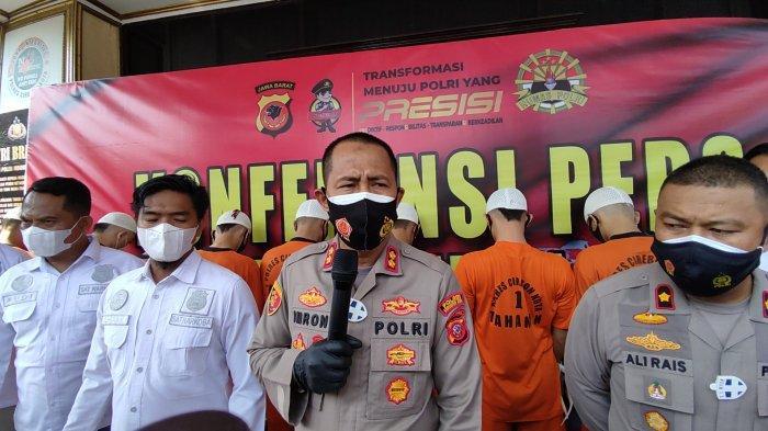 Selama Mei 2021, Polres Cirebon Kota Ungkap 10 Kasus Peredaran Gelap Narkoba