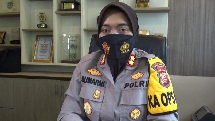 Kapolres Subang AKBP Sumarni di Mapolres Subang