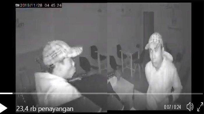 Kafe di Jakarta Timur Dibobol Maling, Detik-detik Kejadiannya Terekam CCTV, Mesin Kasir Digotong