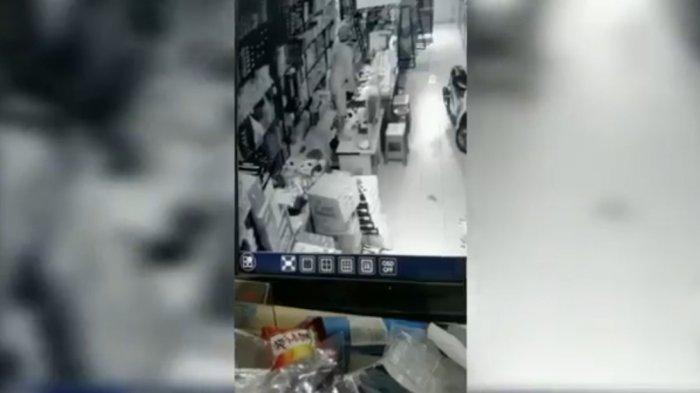 Aksi Pencurian Toko Marak di Sumedang Utara, Terakhir Korbannya Pemilik Toko Bangunan, Terekam CCTV