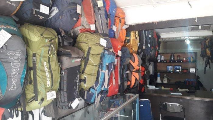 Cari Peralatan Mendaki Gunung Sewa Saja Di Toko Alment Ada Diskon 10 25 Persen Lho Tribun Jabar