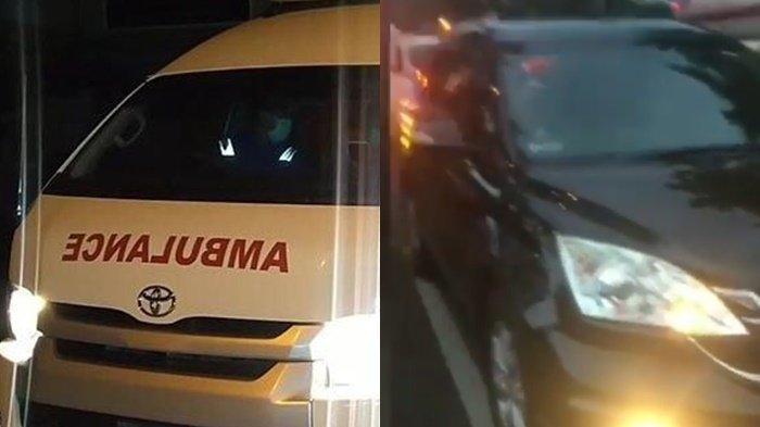 Viral, Ambulans Bawa Pasien Covid Tak Diberi Jalan oleh Mobil Ini, Sopirnya Disebut Malah Nantang