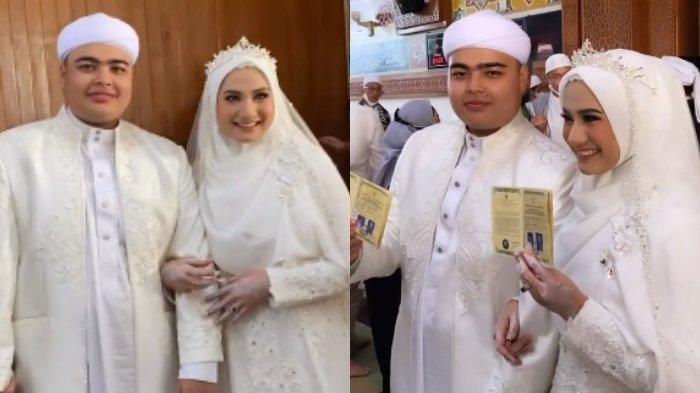 Kakak Digugat Cerai Larissa Chou, Ini Foto-foto Pernikahan Anak Kedua Almarhum Ustaz Arifin Ilham