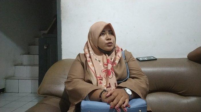 Amelia Nursyahfitri (23) warga Kampung Kerajan, Desa Cibalongsari, Kecamatan Klari, Kabupaten Karawang korban Marinir TNI AL gadungan asal Sukabumi