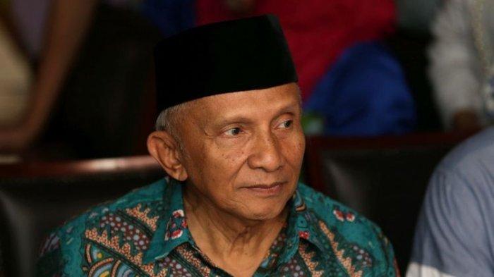 Ingatkan Presiden Joko Widodo, Amien Rais Bawa Nama Firaun dan Ayat Al-Qur'an Kritik Pembubaran FPI