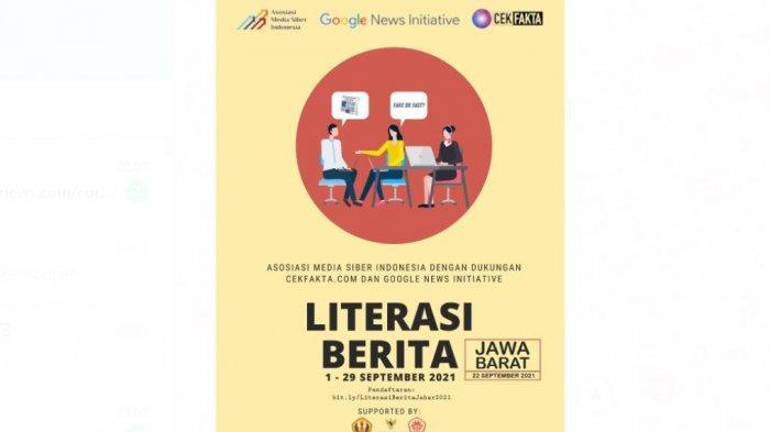 AMSI Jabar Kerja Sama Google Inisiative Gelar Literasi Berita, Mengenal Hoax dan Menangkalnya