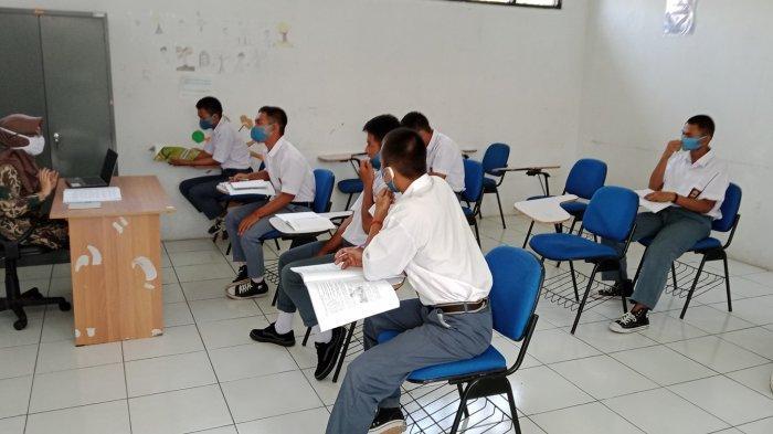 857 Anak Indonesia Dapat Remisi, Simulasi Sekolah di LPKA Bandung