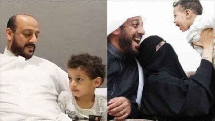 Gantengnya Fahad, Putra Syekh Ali Jaber, Kecil-kecil Jago Bahasa Arab, Tingkahnya Lucu Menggemaskan