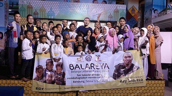 Puluhan Anak Yatim 'Serbu' Mal Ikuti Balareya, Kehadiran Ray Shareza Tambah Seru Suasana