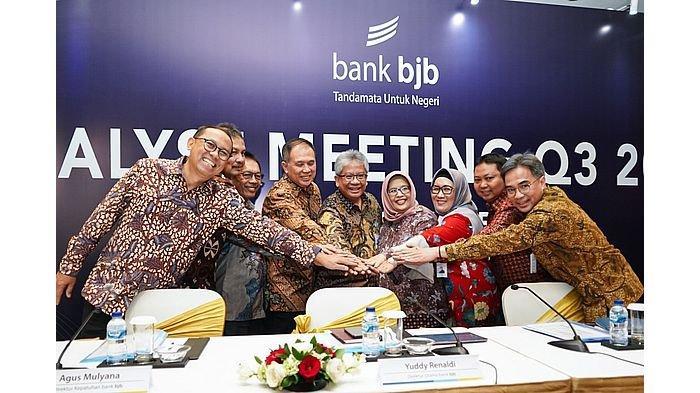 Analyst Meeting Triwulan III 2019, bank bjb Jaga Pertumbuhan Berkualitas