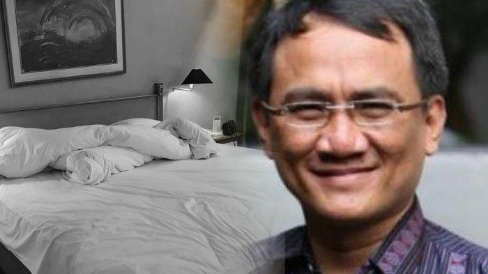 Terungkap Wanita Bersama Andi Arief di Hotel Bukan Politisi atau Caleg, L Diduga Sahabat Andi