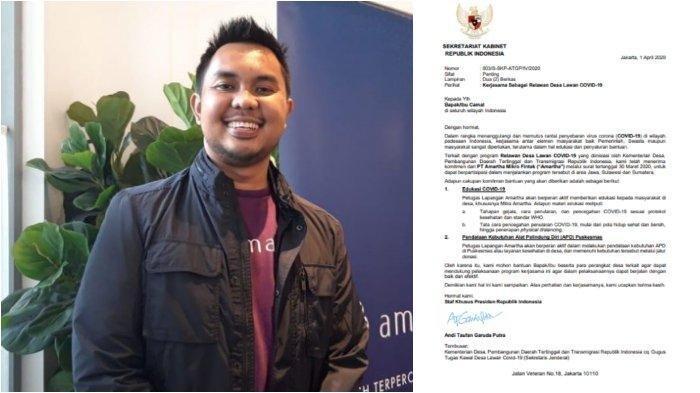 Mengenal Andi Taufan Garuda Putra, Stafsus Jokowi Tuai Polemik karena Surat untuk Camat di Indonesia