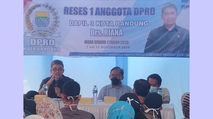 Ketua DPC Demokrat Kota Bandung, Minta DPRD Isi Reses Sambil Pantau Mitigasi Perkembangan Covid-19