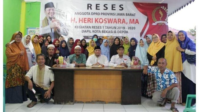 Anggota DPRD Jabar, Heri Koswara Serap Aspirasi Terkait Pengelolaan Sampah di Bekasi